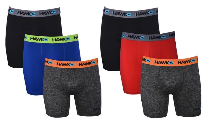 e80a697129 Tony Hawk Men's Athletic Performance Boxer Briefs (3 or 6-Pack ...