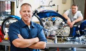 Cycle Parts and Accessories: One, Two, or Three Motorcycle Oil Change at Cycle Parts and Accessories (Up to 55% Off)