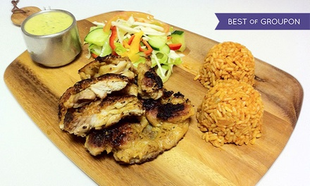 Regular or Large Marinated Chicken Meal with a Soft Drink for Up to Four at Assenheims56 (Up to 45% Off)
