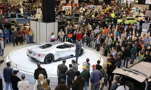 Cleveland Auto Show: $10 for Visit to Cleveland Auto Show ($13 Value)