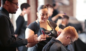 Up to 44% Off Barber Cuts at Cinta Aveda Institute  at Cinta Aveda Institute, plus 6.0% Cash Back from Ebates.