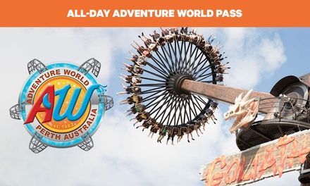 $45 for All-Day Adventure World Pass with Unlimited Rides (Up to $62.50 Value)