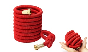 Flexible Expandable Garden Hose With Brass Connectors