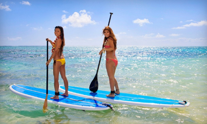 Singer Island Surf Camp Inc. - Multiple Locations: Two-Hour SUP Board or Kayak Rental with a Lesson for One or Two from Singer Island Surf Camp Inc. (Up to 71% Off)