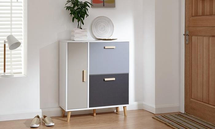 Delta Shoe Storage Cabinet