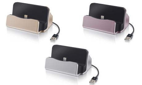 1 o 2 bases de carga con cable para iPhone