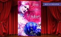 """2 places pour le spectacle """"Jadore"""" le vendredi 20 janvier 2017 à 21h30 à 29 € au Casino de Saint-Brevin lOcéan"""