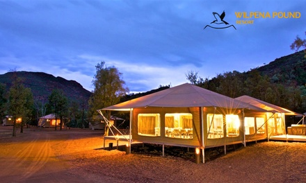 Flinders Ranges: Two or Three Nights for Two with Breakfast, Wine and Late CheckOut at Wilpena Pound Resort