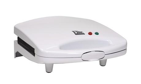 Elite Cuisine White Sandwich Maker 59e067b4-4a53-11e7-aae9-00259060b5da