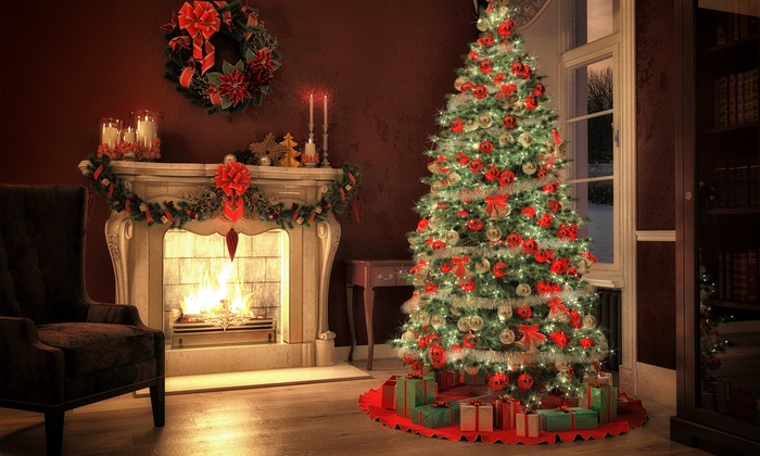 Crazy Rudolph's Christmas Trees - Santa Rosa: $39for a Noble Fir Christmas Tree Up to 7-Feet Tall at Crazy Rudolph's Christmas Trees ($100Value)