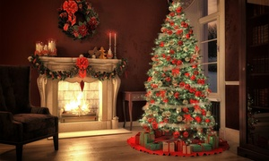 Crazy Rudolph's Christmas Trees: $39 for a Noble Fir Christmas Tree Up to 7-Feet Tall at Crazy Rudolph's Christmas Trees ($100 Value)