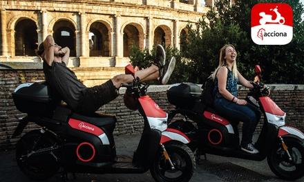 40 minuti di noleggio scooter a 0€euro