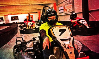 image for 15 Minutes of Karting at Galway City Karting (45% Off)