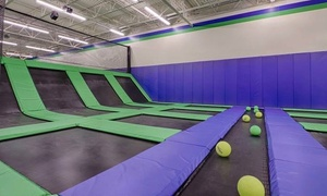Up to 20% Off at Launching Pad Trampoline Park in Salem, VA at Launching Pad Trampoline Park, plus 6.0% Cash Back from Ebates.