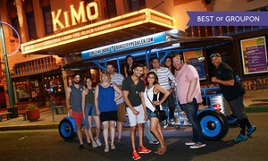Duke City Pedaler: Party Bike Pub Crawl for Two, Four, or Six at Duke City Pedaler (Up to 51% Off)