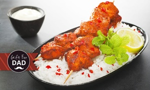 2 Fat Indians - Cottesloe: Indian Feast for Two ($49), Four ($95) or Six People ($139) at 2 Fat Indians - Cottesloe (Up to $280.50 Value)