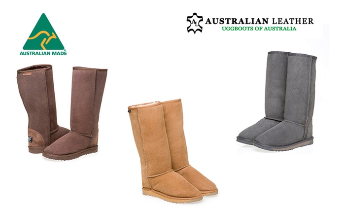 3a17e80f024 Australian Leather Tall UGG Boots | Groupon
