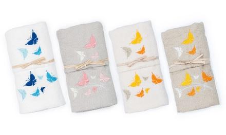 Set asciugamani da bagno