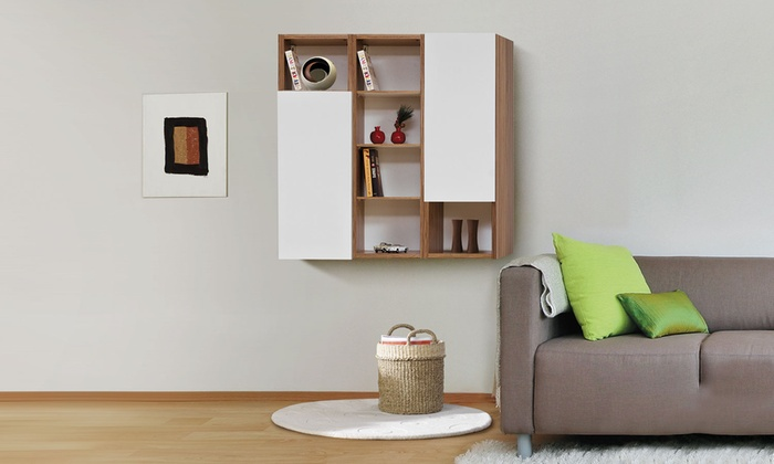 etagere murale groupon