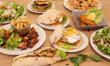 Spécialité naan, salade ou tenders avec boisson pour 1, 2 ou 4 dès 5,90 € au restaurant Le Fusion «L'Univers du Naan»