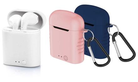 Auriculares inalámbricos con Bluetooth 5.0 con 2 fundas de colores de regalo