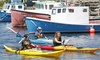 East Coast Outfitters - Lower Prospect: Sea Kayak Rentals or Tour from East Coast Outfitters (Up to 48% Off). Three Options Available.
