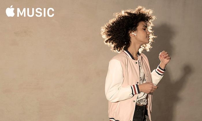 Free Three-Month Apple Music Subscription