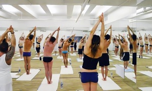 Bikram Yoga Herald Square: 5 or 10 Yoga Classes or One or Three Month of Unlimited Classes at Bikram Yoga Herald Square (Up to 79% Off)