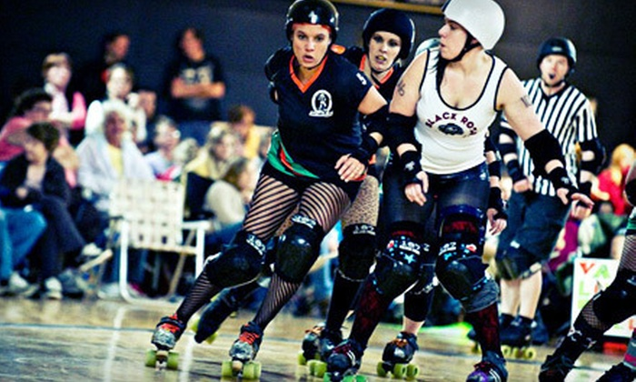 Rocktown Rollers - Harrisonburg: $10 for a Rocktown Rollers Roller-Derby Bout for Two at Funky's Skate Center on April 14 at 5:30 p.m. ($20 Value)