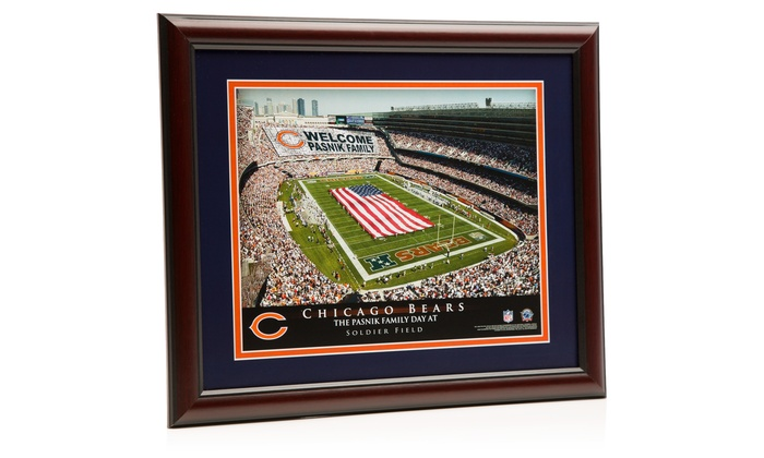 Prints That Rock: One Personalized Stadium Print with Standard or Premium Frame from Prints That Rock (Up to 44% Off)