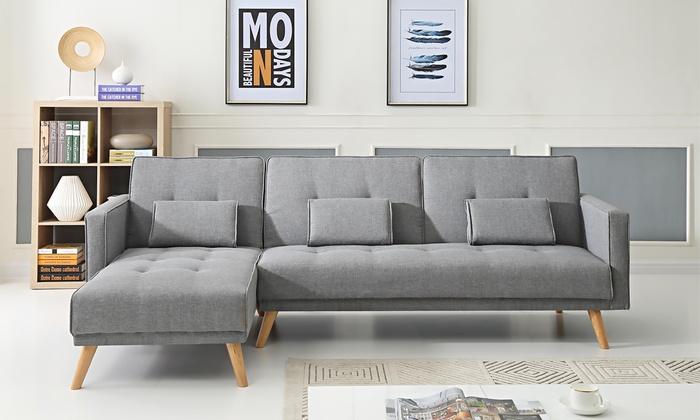 bobochic ecksofa helly groupon goods. Black Bedroom Furniture Sets. Home Design Ideas