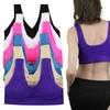 Women's Plus Size Scoop-Back Padded Sports Bras (6-Pack)
