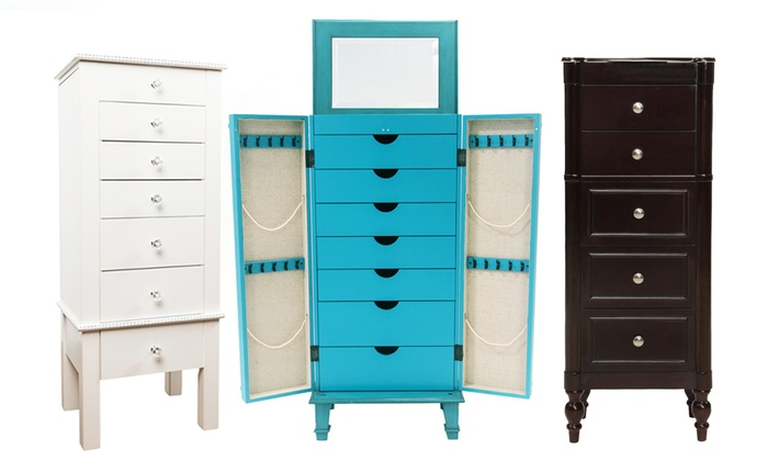 Up To 54 Off on Hives and Honey Jewelry Armoire Groupon Goods