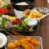 大阪府/日本橋 ≪鮮魚盛り・串カツ盛り・出汁巻たまご等9品+飲み放題120分≫
