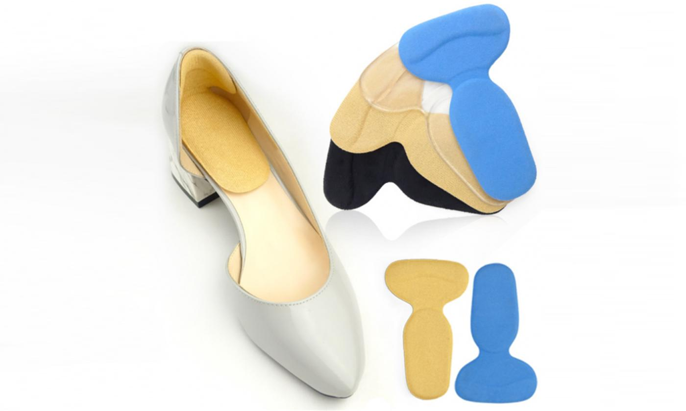 Three-Pack of Silicone Heel Grips