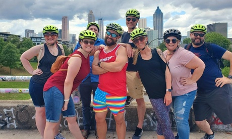 $55 for Three-Hour LBGTQ Tour at Bicycle Tours of Atlanta ($65 Value)