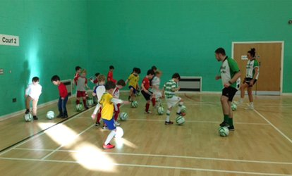 image for One-Hour or 90-Minute Children's Football Party with Football Superstars (Up to 67% Off)