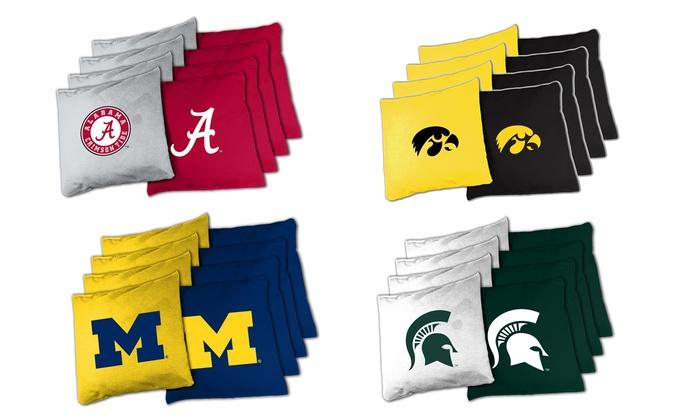 NCAA XL Bean Bag Set for Cornhole (8-Piece)