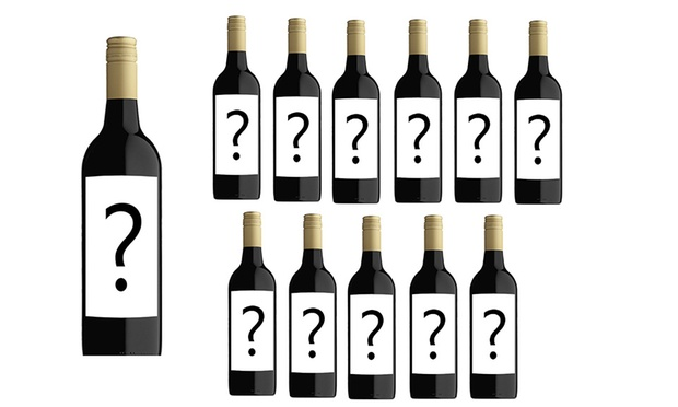Free Shipping: $45 for a 12 Bottle Case of Mystery Shiraz or Rose Wine (Dont Pay $179)
