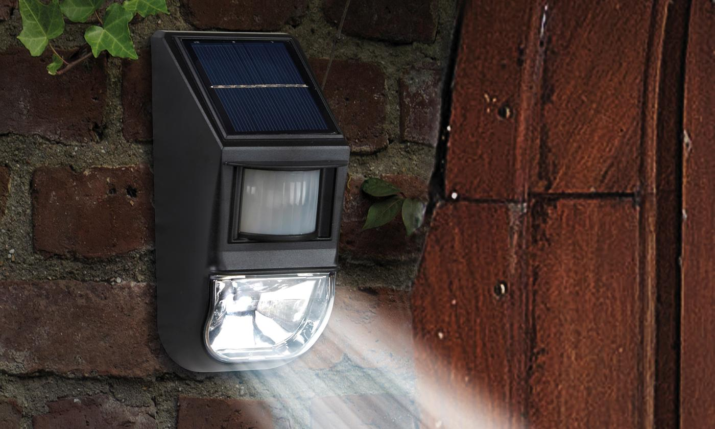 One, Two or Four Motion Sensor Wall Lights