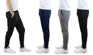 Men's Slim-Fit French Terry Joggers at Men's Slim-Fit French Terry Joggers, plus 6.0% Cash Back from Ebates.