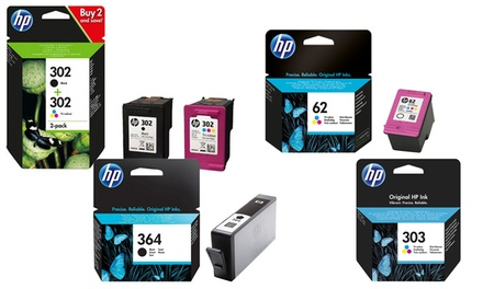 Original HP Printer Ink Cartridges for HP 302, 301, 300, 62 or 364 With Free Delivery