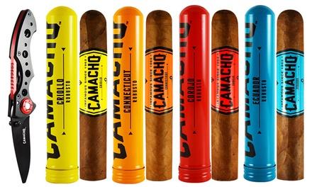 Camacho Bold Anytime Robusto Tubos Assortment from Gotham Cigars (8-Pack)