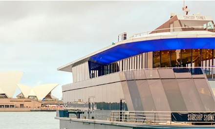 $39 for Australia Day Cruise Ticket 10.30 a.m. or 7.30 p.m. Cruise, 26 January 2019 Up to $45 Value