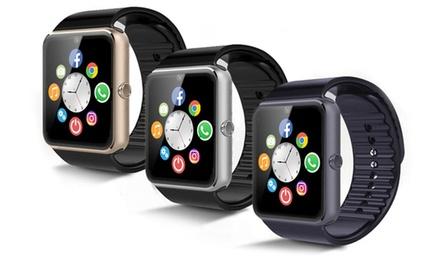 Smartwatch multifunción con cámara y radio FM