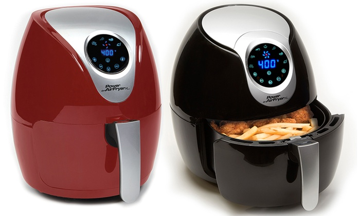 up to 47 off on as seen on tv power air fryer xl groupon goods