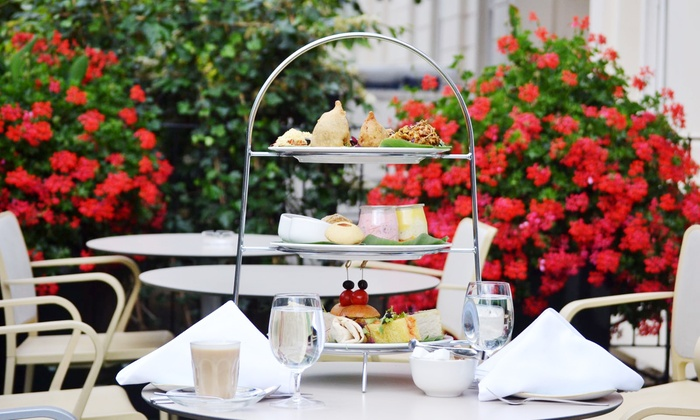 Traditional or Indian-Inspired Afternoon Tea with Bubbly for Two or Four at Park Grand Paddington Court