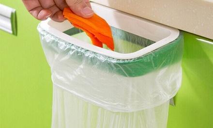 נמאס לכם מהזבל בכיור? זוג מתקני אשפה מהפכניים הנתלים על ארונות המטבח לשמירה על הניקיון וההיגיינה!