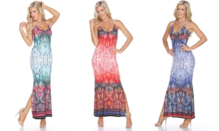 Nila Printed Maxi Dress