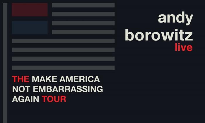 Presale: Andy Borowitz: The